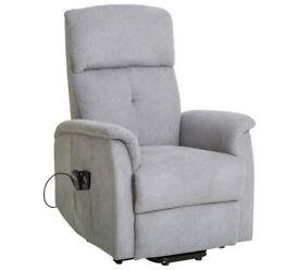 Margo Riser Recliner Heated Chair - Grey