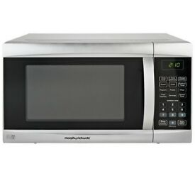 Morphy Richards 800W Standard Microwave EM823AGS - Silver
