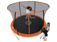 Sportspower 8ft Trampoline with Folding Enclosure 1011.