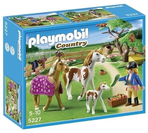 Playmobil Country Paddock Horses Pony