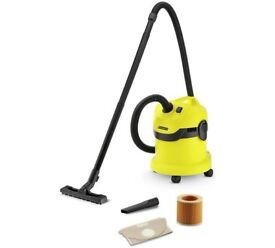 Karcher WD2 Wet and Dry Vacuum Cleaner - Used Only Twice