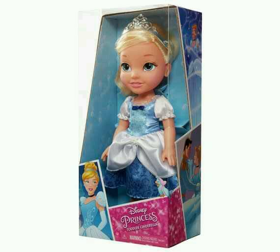 Disney Belle & Cinderella Toddler dolls **brand new **