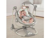 2 months of use. Ingenuity Baby ConvertMe candler Swing-2-Seat rocker