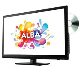 24 inch alba tv perfect condition only had few weeks doesnt cum with remote