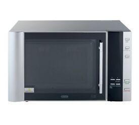 De'Longhi 900W Combination ET Microwave AC9 - Silver