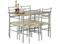 Neat and stylish dining table and chairs