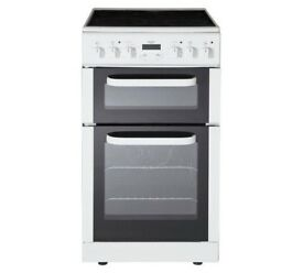 BRAND NEW Bush BEDC50W Electric Cooker - White RRP £299 OUR PRICE JUST £235