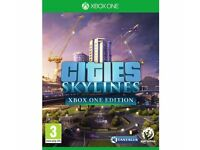 CITIES SKYLINES XBOX ONE EDITION Excellent Condition Game