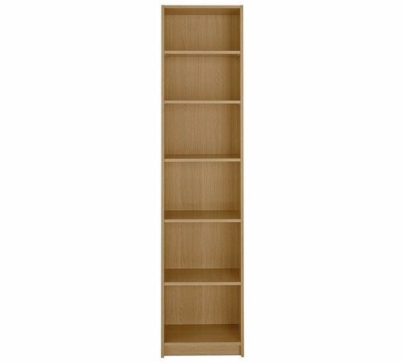 Oak Bookcase with 5 Adjustable Shelves from Argos Only £20