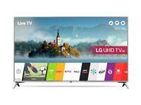 43'' LG SMART 4K HDR LED TV.43UJ651V FREESAT HD BUILT CHANNELS. WEBOS BUILT. FREE DELIVERY/SETUP