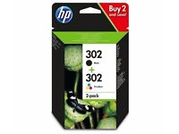 HP 302 Ink Cartridge Black & Colour
