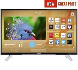 """43"""" 4k TV, Hitachi, new, warranty"""