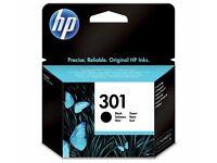 HP301 BLACK INK CARTRIDGE - BRAND NEW