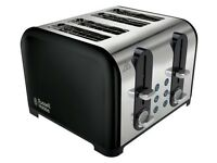 Russell Hobbs 22405 Westminster 4 Slice Toaster - Black PRE-OWNED