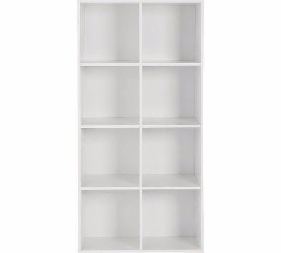 Ex-display Phoenix 8 Cube Storage Unit - White