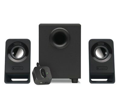 Logitech Z213 2.1 Speakers With Full bass and Compact design