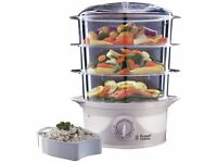 Russell Hobbs Your Creations 3 Tier Food Steamer