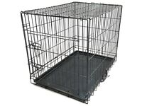 Brand new large dog cage , in box