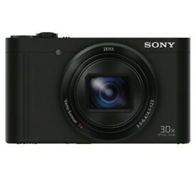 Sony WX500 Compact Camera with 30x Optical Zoom - Black