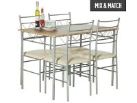 Dining Table & Chairs (Argos OSLO set)