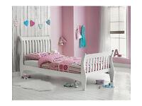 Daisy Sleight Single Bed Frame - White