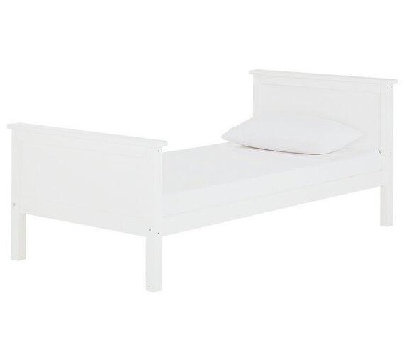 Kingston Single Bed - White