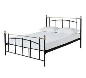 HOME Yani Kingsize Bed Frame - Black