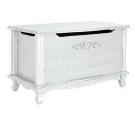 Sophia Blanket Box - Ivory