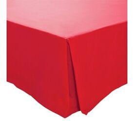 red single valance