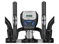 ***SOLD***oger Black Silver 2 in 1 Exercise Bike and Cross Trainer
