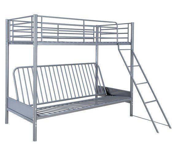 Silver Bunk Beds Argos Home Design Ideas