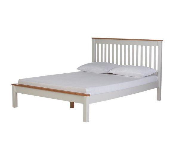 Aspley Kingsize Bed Frame - Two Tone