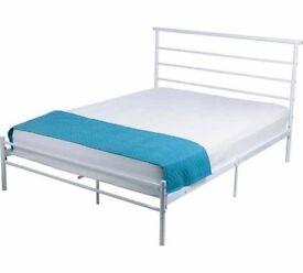 Avalon Kingsize Bed Frame - White