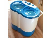 Portable Washing Machine - Twin Tub Washer and Dryer (Spinner)