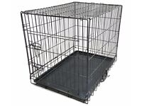 TWO DOG CAGES