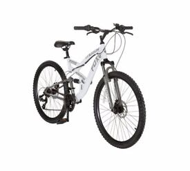 ** FINAL OFFER ** MUDDY-FOX INTERCEPTOR WHITE MOUNTAIN BIKE ** THIS BIKE IS UNUSED **