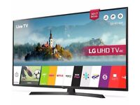 LG 55UJ635V 55 Inch Smart 4K Ultra HD TV with HDR Like new