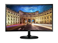 Samsung C24F390 24 Inch LED Curved Monitor - Black