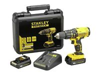 Stanley FatMax Drill Driver with 2 x Batteries - 18V