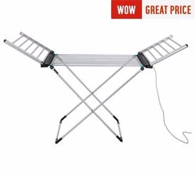 Minky Wing 12m Heated Clothes Airer with Cover 866.