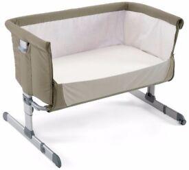 Chicco Next2Me Side-Sleeping Crib - Dove Grey