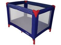 Red Kite Travel Cot (Blue)