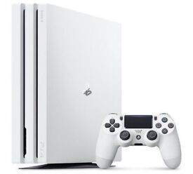 Sony Playstation 4 PRO 1TB White With One Controller *Sealed*