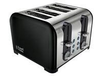 Russell Hobbs 22405 Westminster 4 Slice Toaster - Black PRE-OWNED