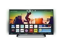 BRAND New Philips 50 inch HDR 4K LED Smart TV with Ambilight, Freesat HD & Freeview Play