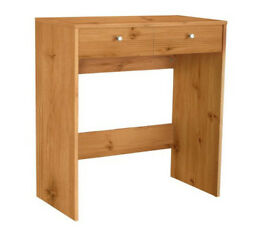 HOME New Malibu 2 Drawer Dressing Table - Pine Effect