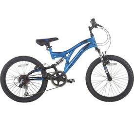 muddyfox 20 inch bike blue boys