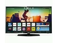"""50"""" Smart tv with the latest HD Freeview Play. Brand New"""