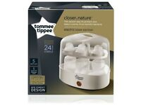 TOMMEE TIPPEE ELECTRIC STEAM STERILISER - WHITE