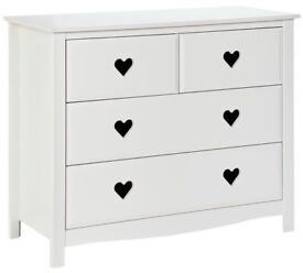 New Mia 2+2 Drawer Chest